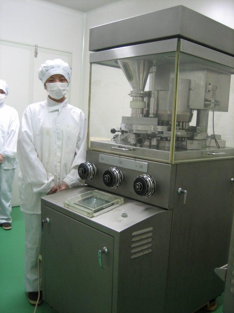 永光工場 タブレット製造
